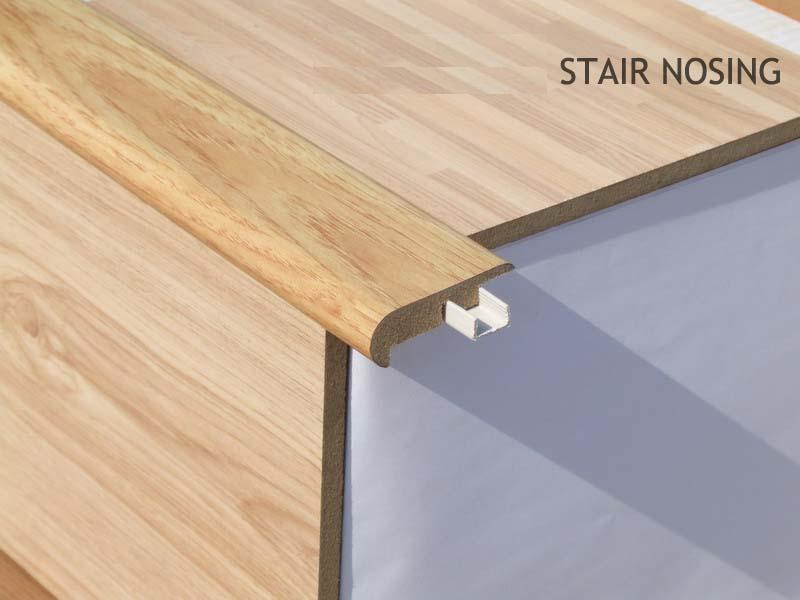 Engineered Hardwood Stair Nosing Laminate Flooring Stair Nose